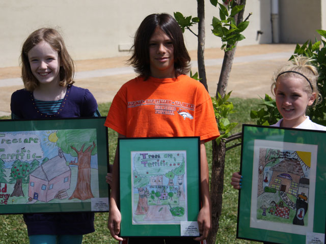 Arbor Day Poster Contest Winners