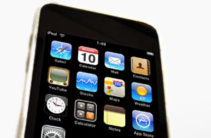 iPod Touch to teach math and English skills
