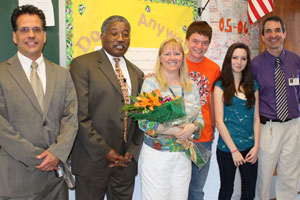 Teacher of the Year Meg Smith
