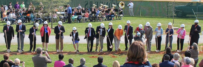 HHS Groundbreaking - School Board and City Council