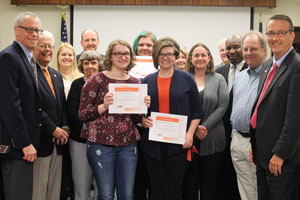 HHS Art Students Recognized by School Board