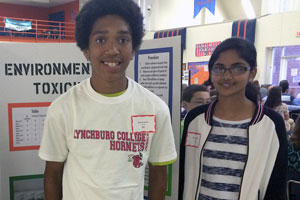 Reginal Science Fair winners