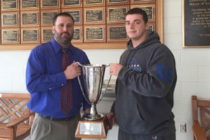 M. J. Carr awarded Rucker Cup at ECG