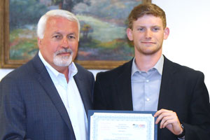 Dylan Scoot Worsham received Fees Scholarship