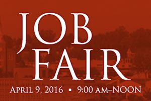 Job Fair - April 9, 2016