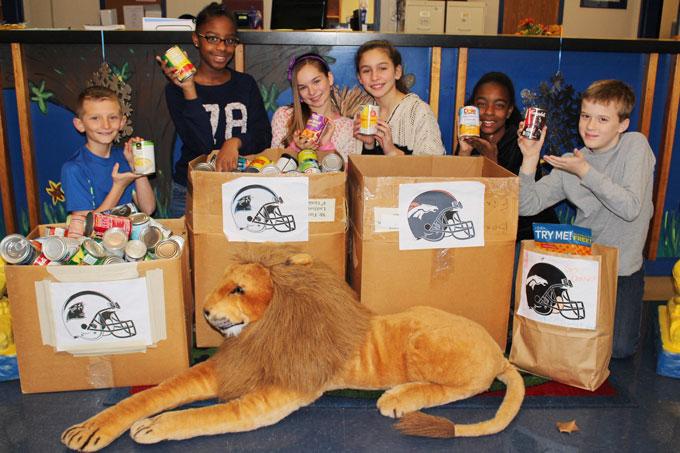 Linkhorne Elementary Souper Bowl Food Drive
