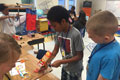 HES students create super hero gadgets during summer workshop