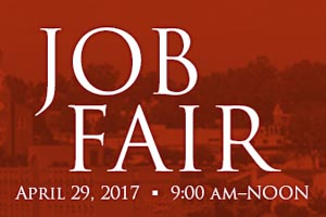 Job Fair - April 29, 2017