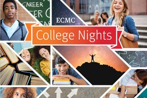 ECMC College Nights graphic
