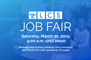 LCS Job Fair - Saturday, March 30, 2019