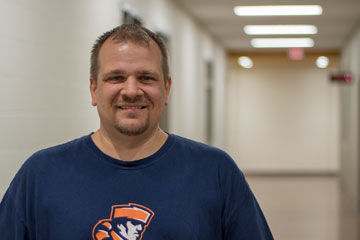 Andrew Napierkowski, Heritage High School Math teacher