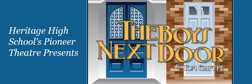 Pioneer Theatre presents The Boys Next Door October 3-6