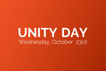 Unity Day - Wednesday, October 23rd