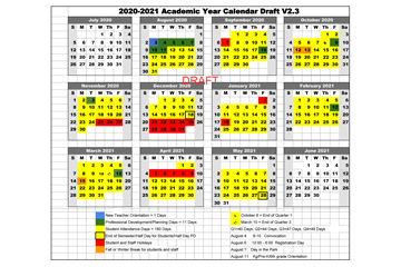 LCS academic calendar draft
