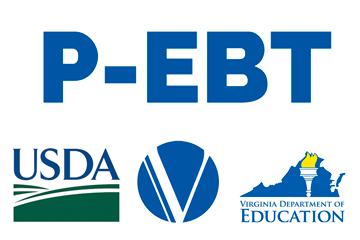 P-EBT with USDA, VDSS and VDOE logos