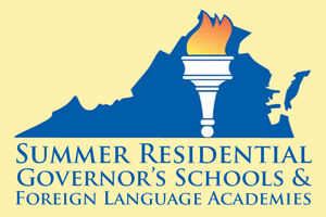 VDOE Logo - Summer Residential Governor's Schools & Foreign Language Academies