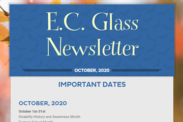 E. C. Glass Newsletter October 2020