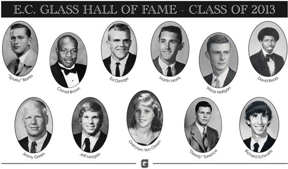 ECG Hall of Fame - Class of 2013