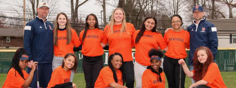 jv softball team photo
