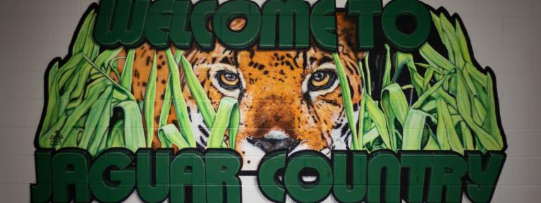 Welcome to Jaguar Country mural